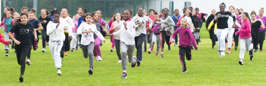 Filles qui courent