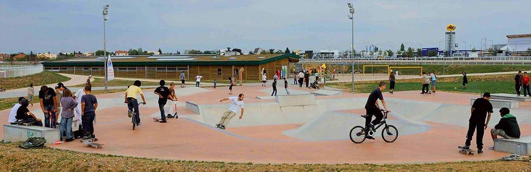 Skatepark de l'hippodrome