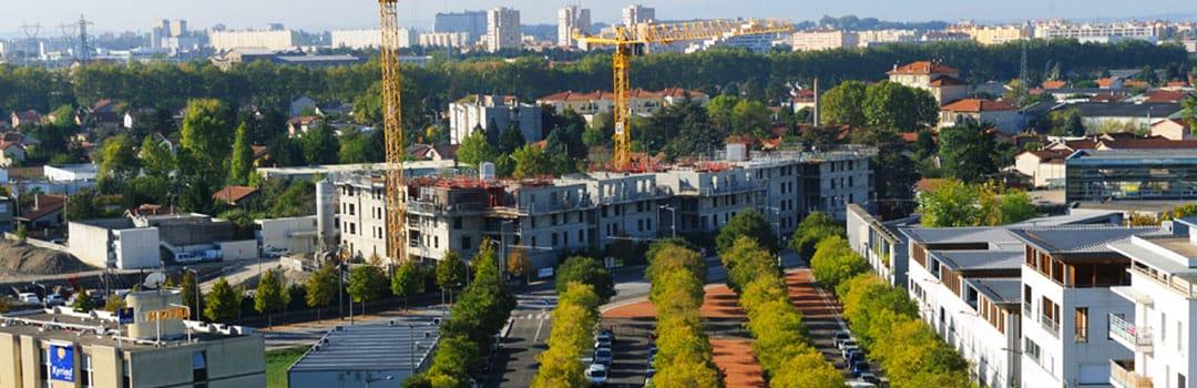 Lycée Doisneau vu du ciel