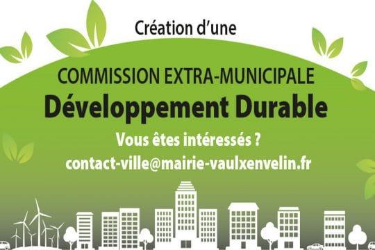 Bandeau Commission Développement durable