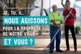 Bandeau Campagne propreté 2019