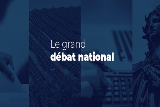 Bandeau Grand débat national