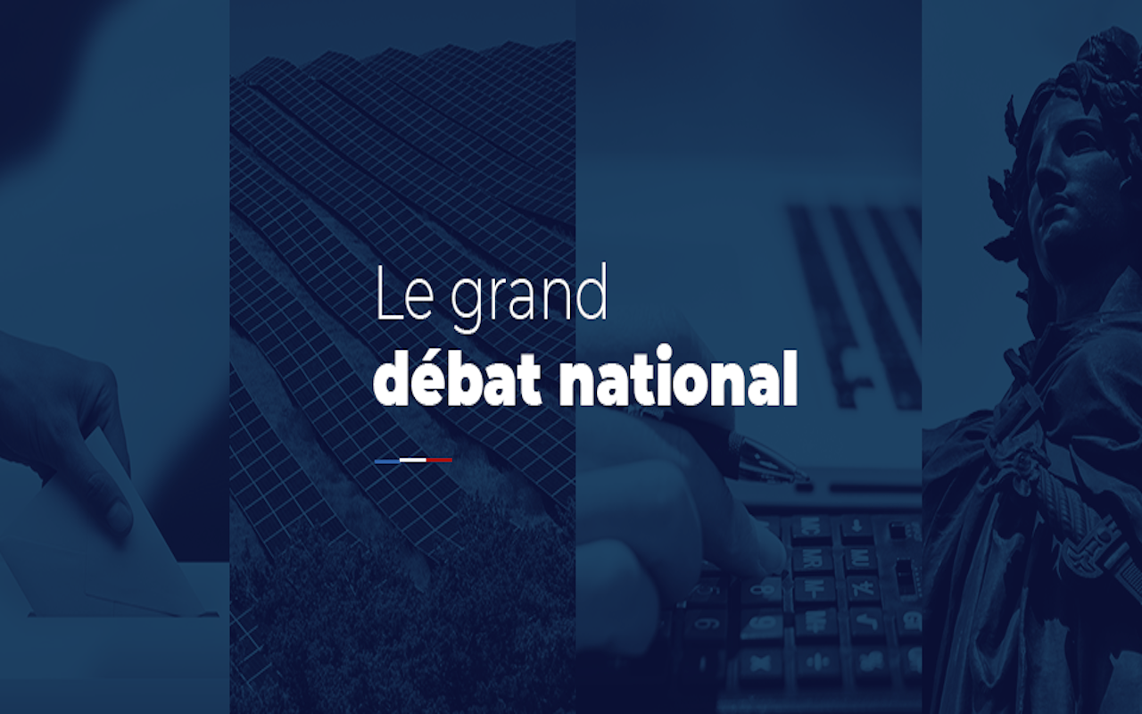 Bandeau Grand débat national