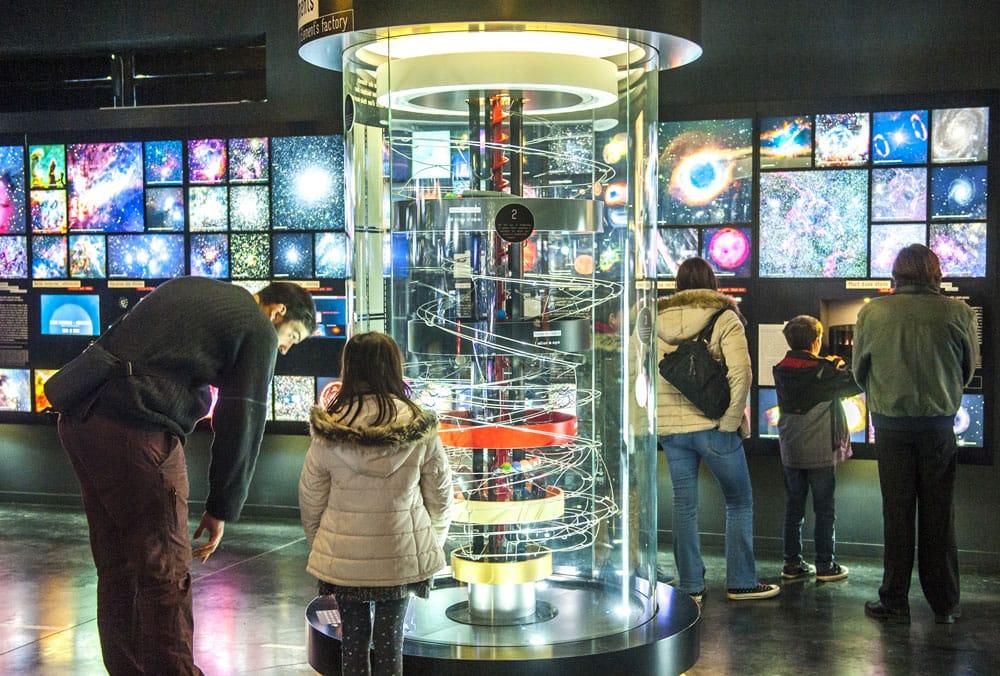 Exposition au Planétarium