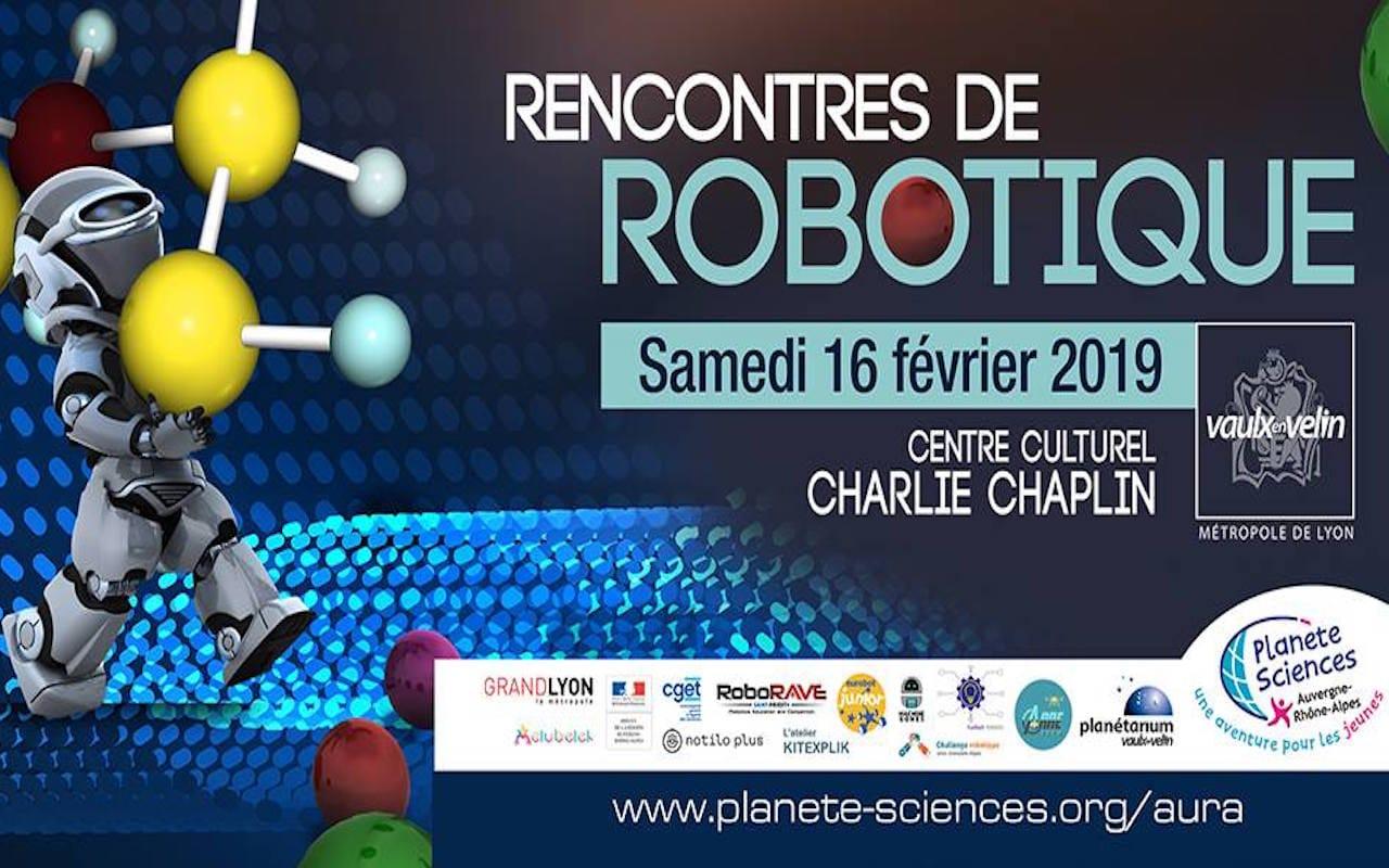 Bandeau Rencontres de robotiques