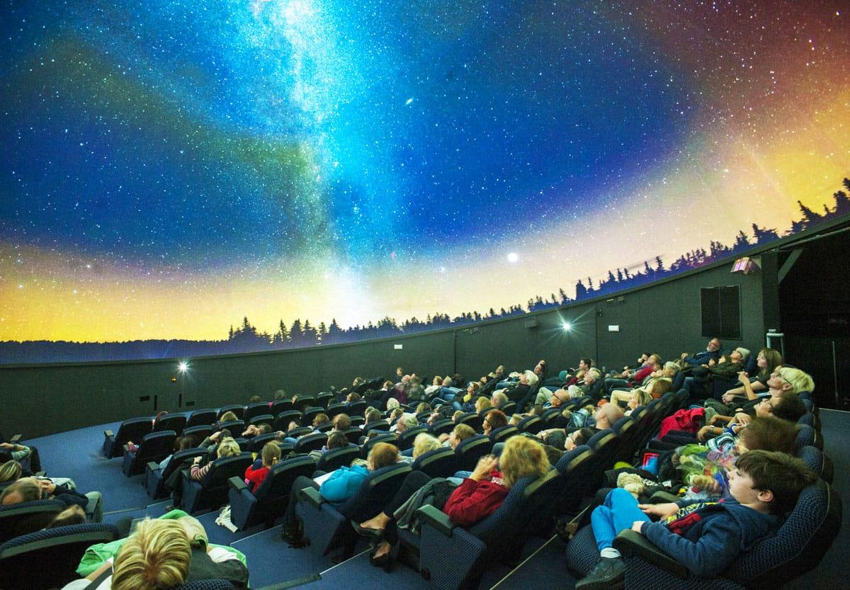 Salle de projection du Planétarium