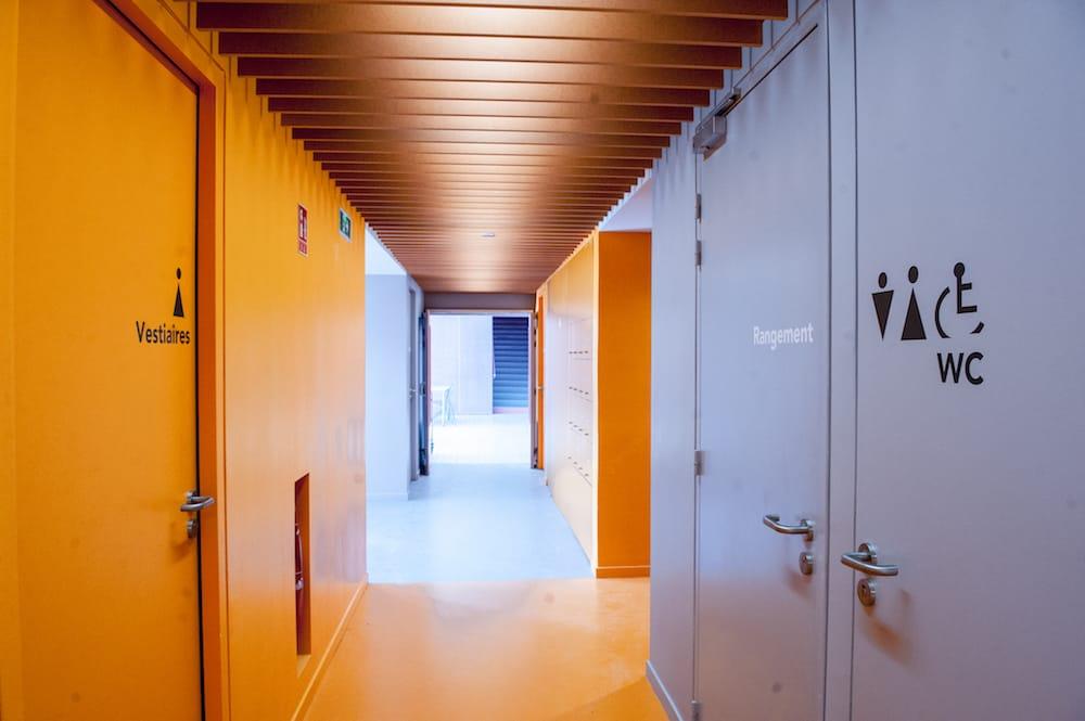 Couloir de l'école René Beauverie