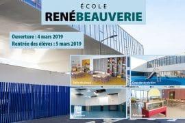 Bandeau Ouverture de l'école René Beauverie