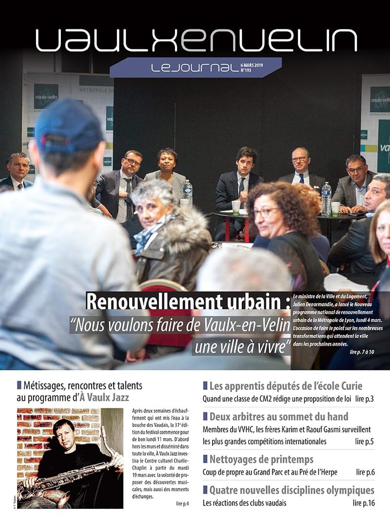 Vaulx-en-Velin le Journal numéro 193