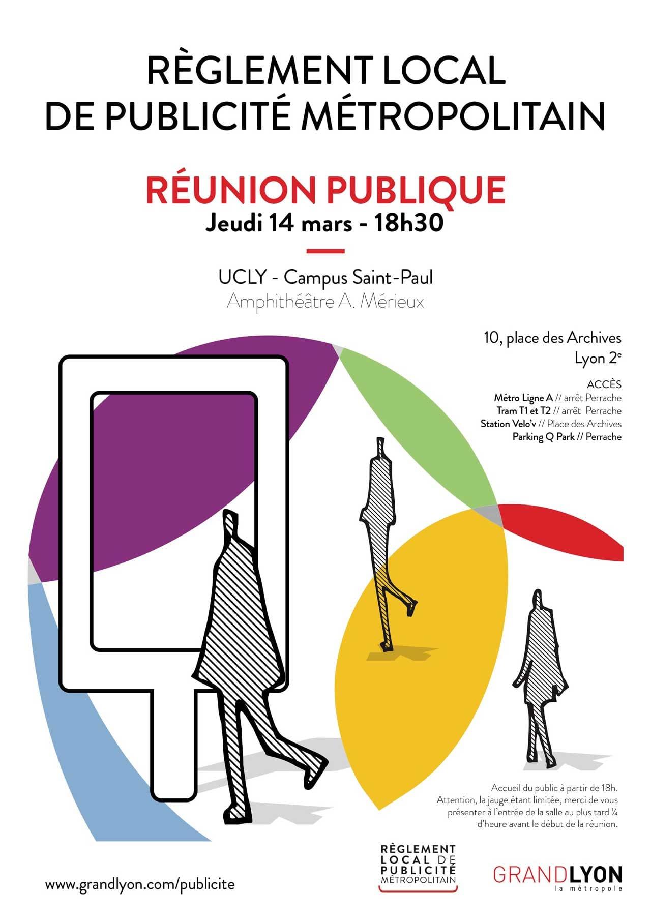 Affiche réunion publique