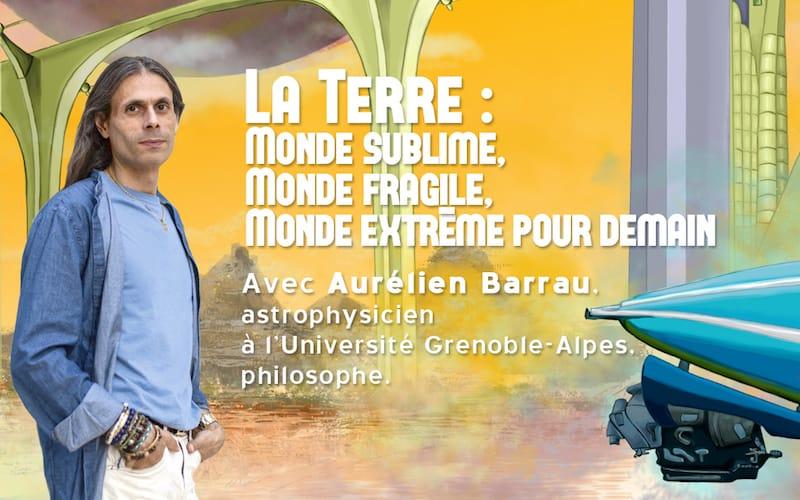 Bandeau conférence Aurélien Barrau
