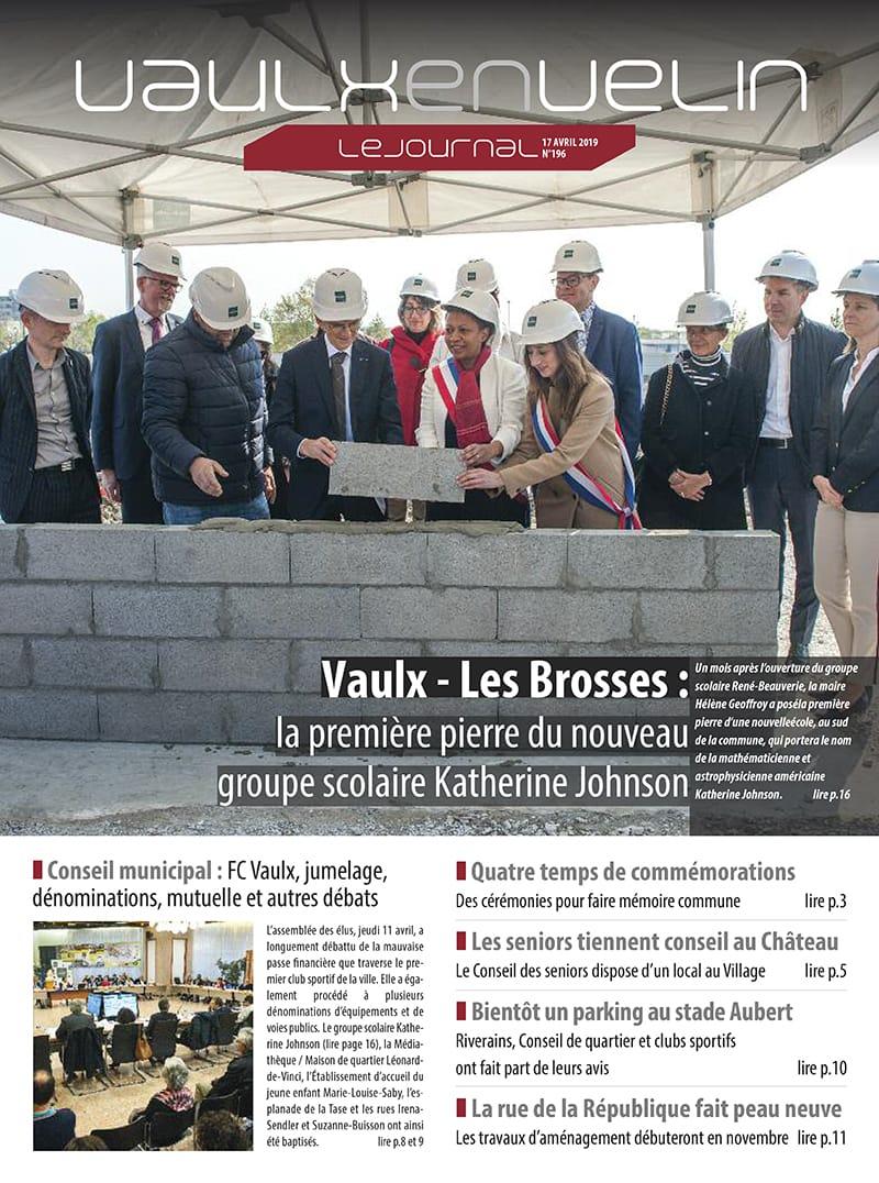 Vaulx-en-Velin le Journal numéro 196