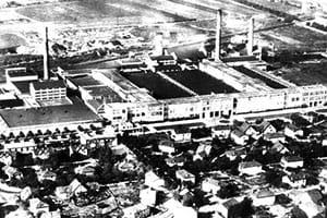 Usine TASE (vue aérienne)