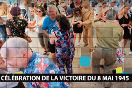 Bandeau célébration de la Victoire du 8 mai 1945