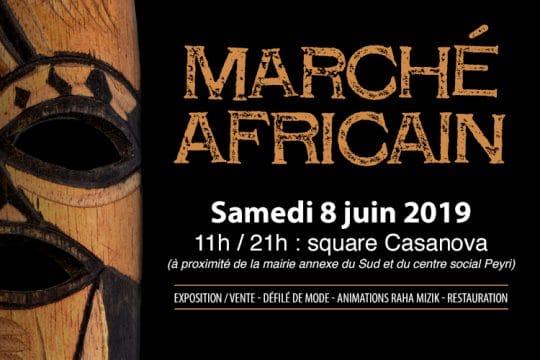 Bandeau marché africain