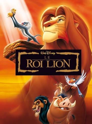 Affiche : LE ROI LION