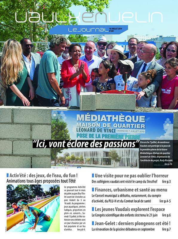 Vaulx-en-Velin le Journal numéro 201