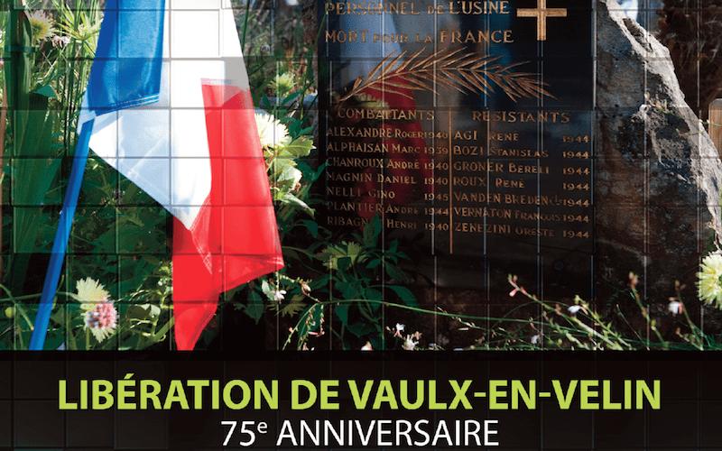 Lundi 2 septembre 2019, commémoration de la Libération de Vaulx-en-Velin
