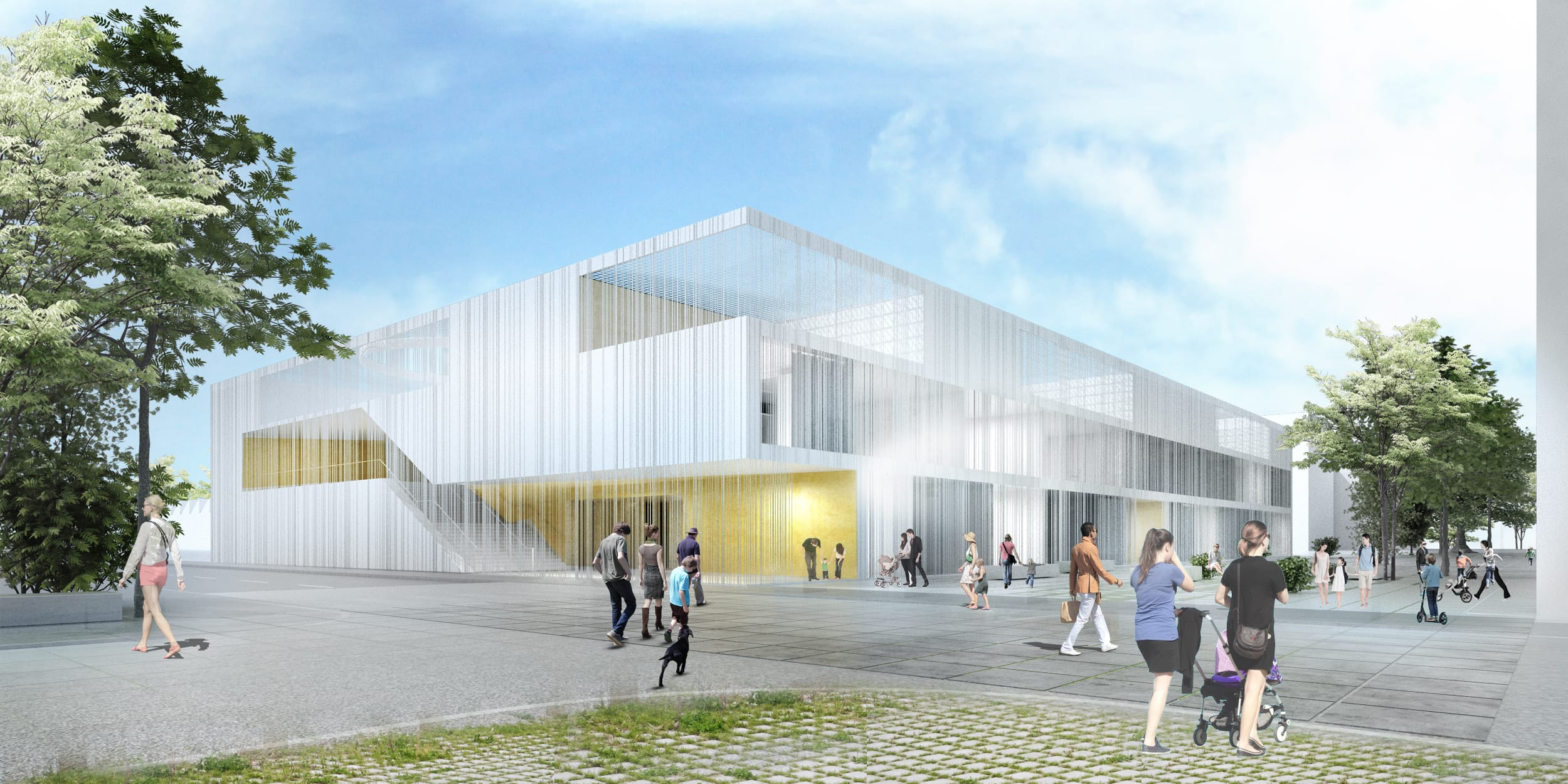 Ecole définitive Odette Cartailhac - Visuel Architecte 01