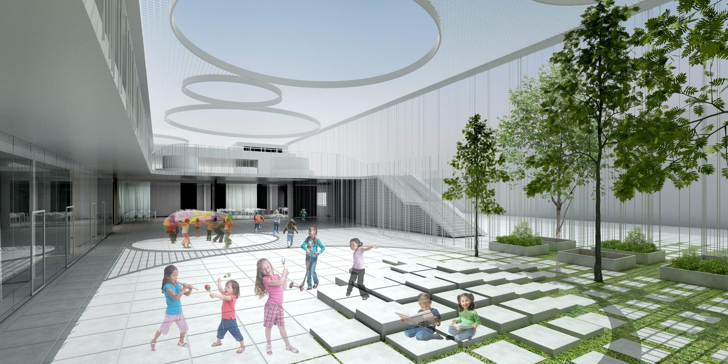 Ecole Odette Cartailahc définitive - Visuel Architecte