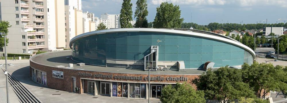 Le centre culturel Charlie Chaplin à Vaulx-en-Velin