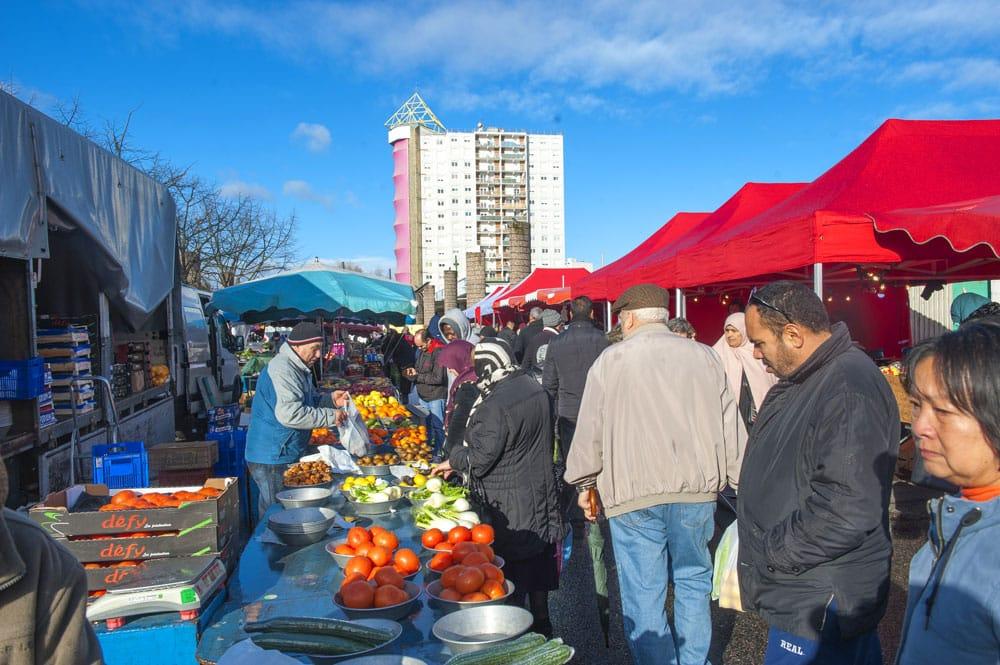 marché du Mas du Taureau
