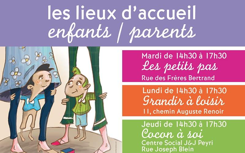 Accueil enfants / parents
