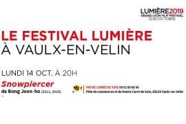 Festival lumière 2019 - 14 octobre à Vaux-en-Velin