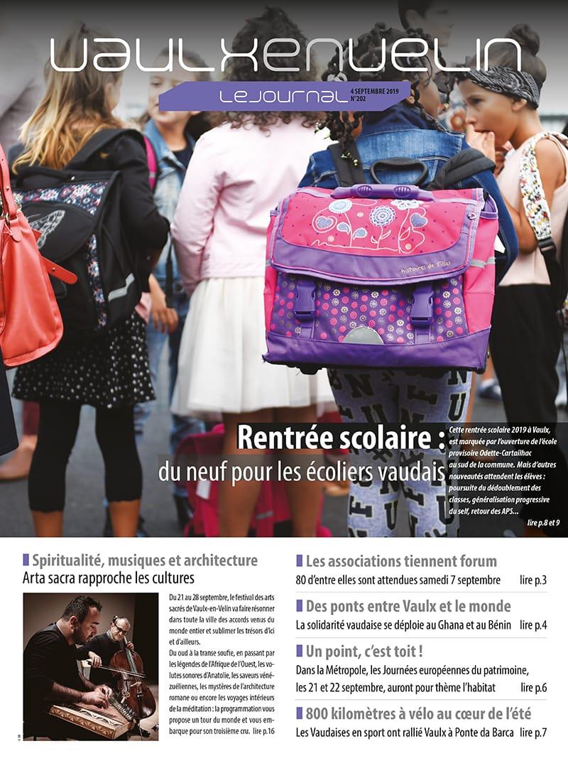 Vaulx-en-Velin le Journal numéro 202