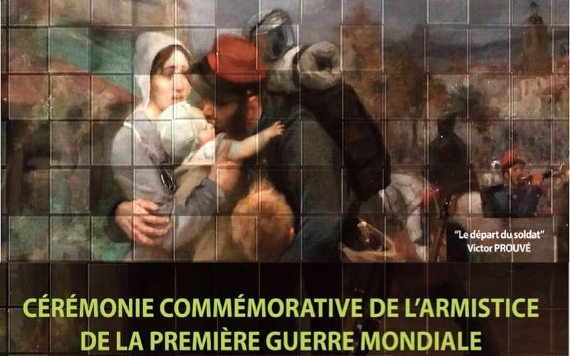 Commémoration du 11 novembre à Vaulx-en-Velin