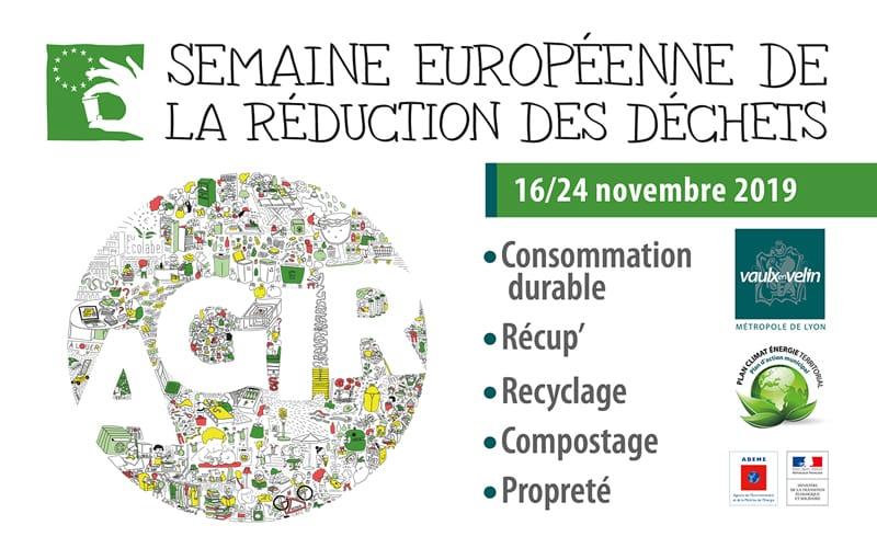 Semaine européenne de la réduction des déchets – du 16 au 24 novembre 2019