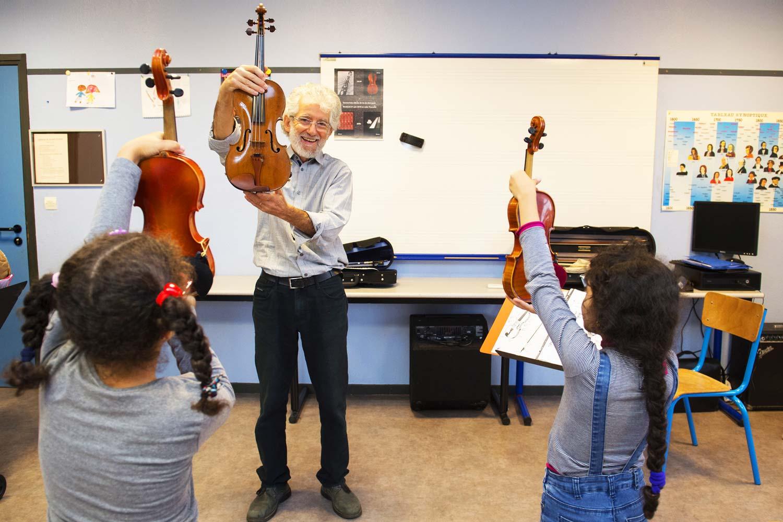 École des Arts - Cours de violon - Septembre 2019