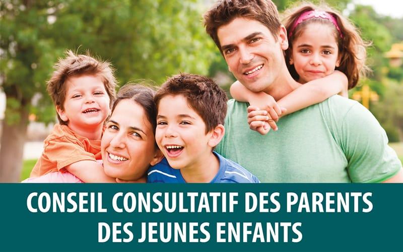 Réunion du Conseil consultatif des parents de jeunes enfants
