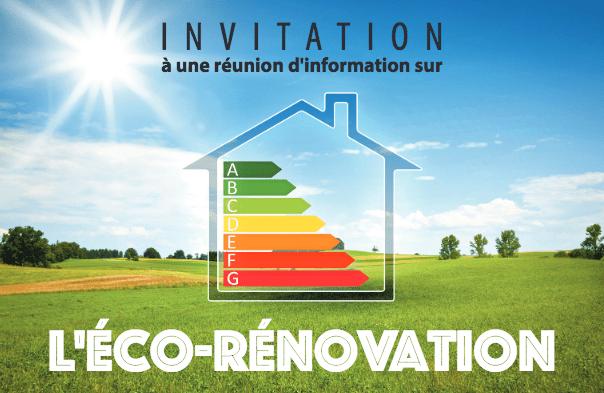 Réunion d'information sur la rénovation énergétique des maisons individuelles