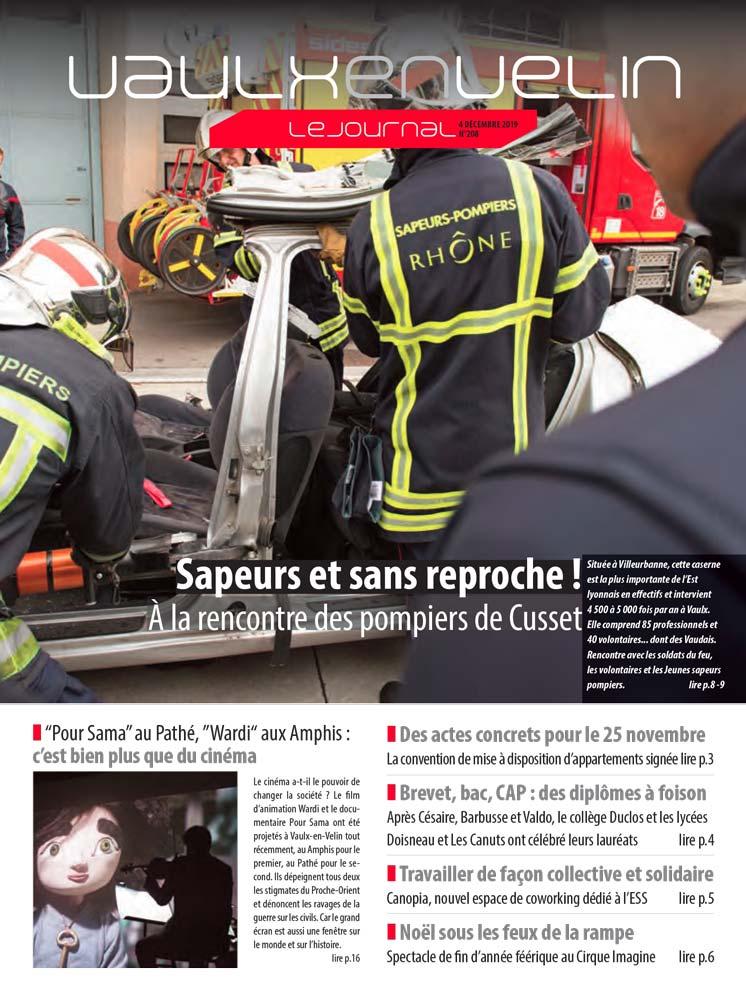 Vaulx-en-Velin le Journal numéro 208