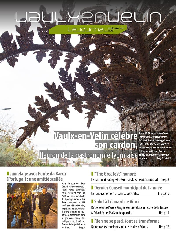 Vaulx-en-Velin le Journal numéro 209