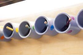 Photo d'illustration - Pots de crayons