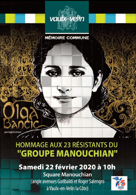 Cérémonie en hommage aux 23 résistants du groupe Manouchian