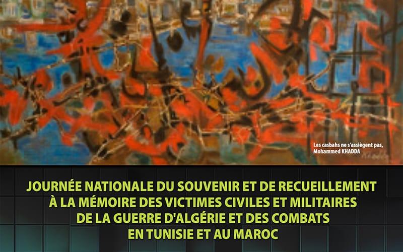 Journée nationale du souvenir et de recueillement en mémoire des victimes civiles et militaires de la guerre d'Algérie et des combats en Tunisie at au Maroc