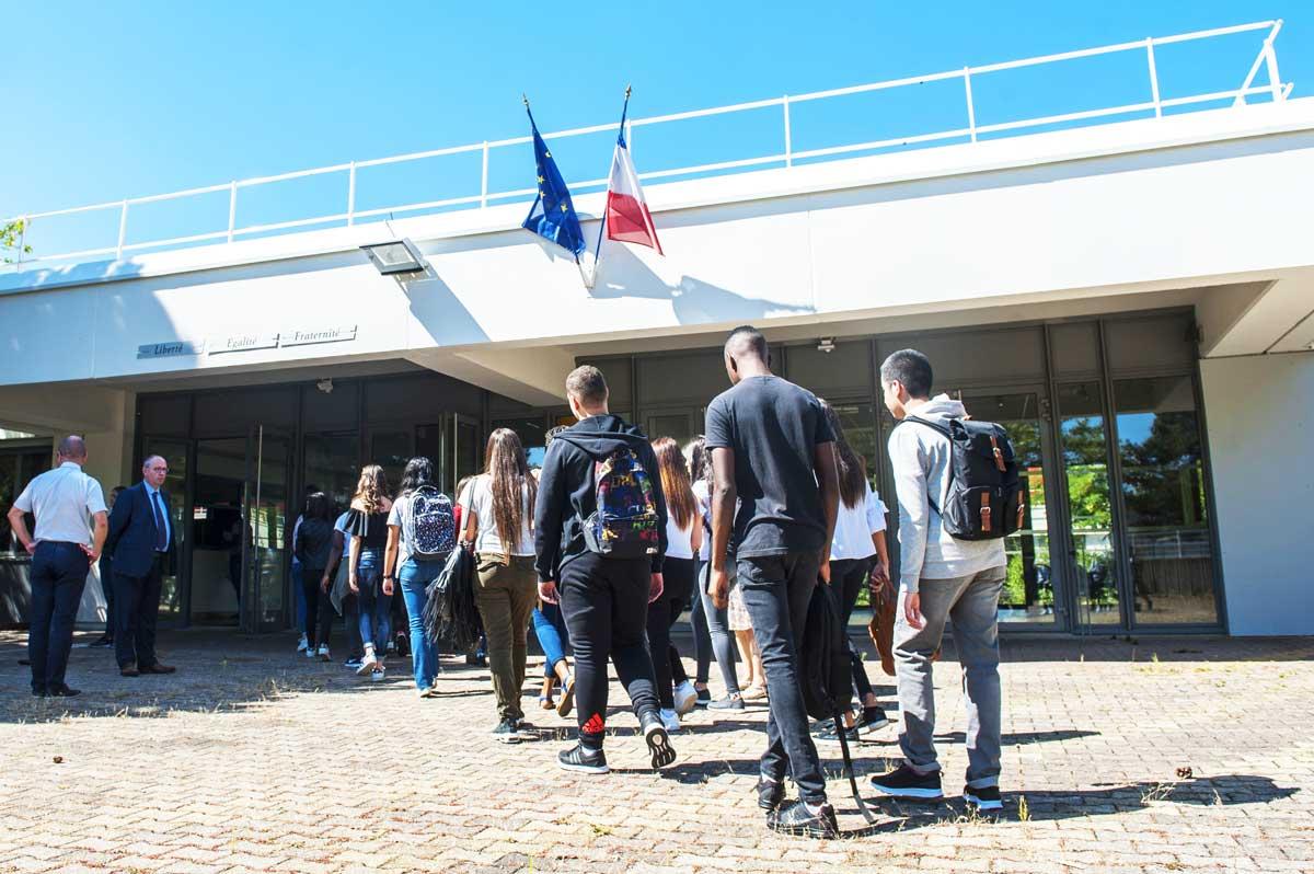 Rentrée au Lycée des Canuts - 4 septembre 2017