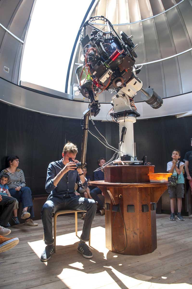 Téléscope au Planétarium - 19 mai 2018