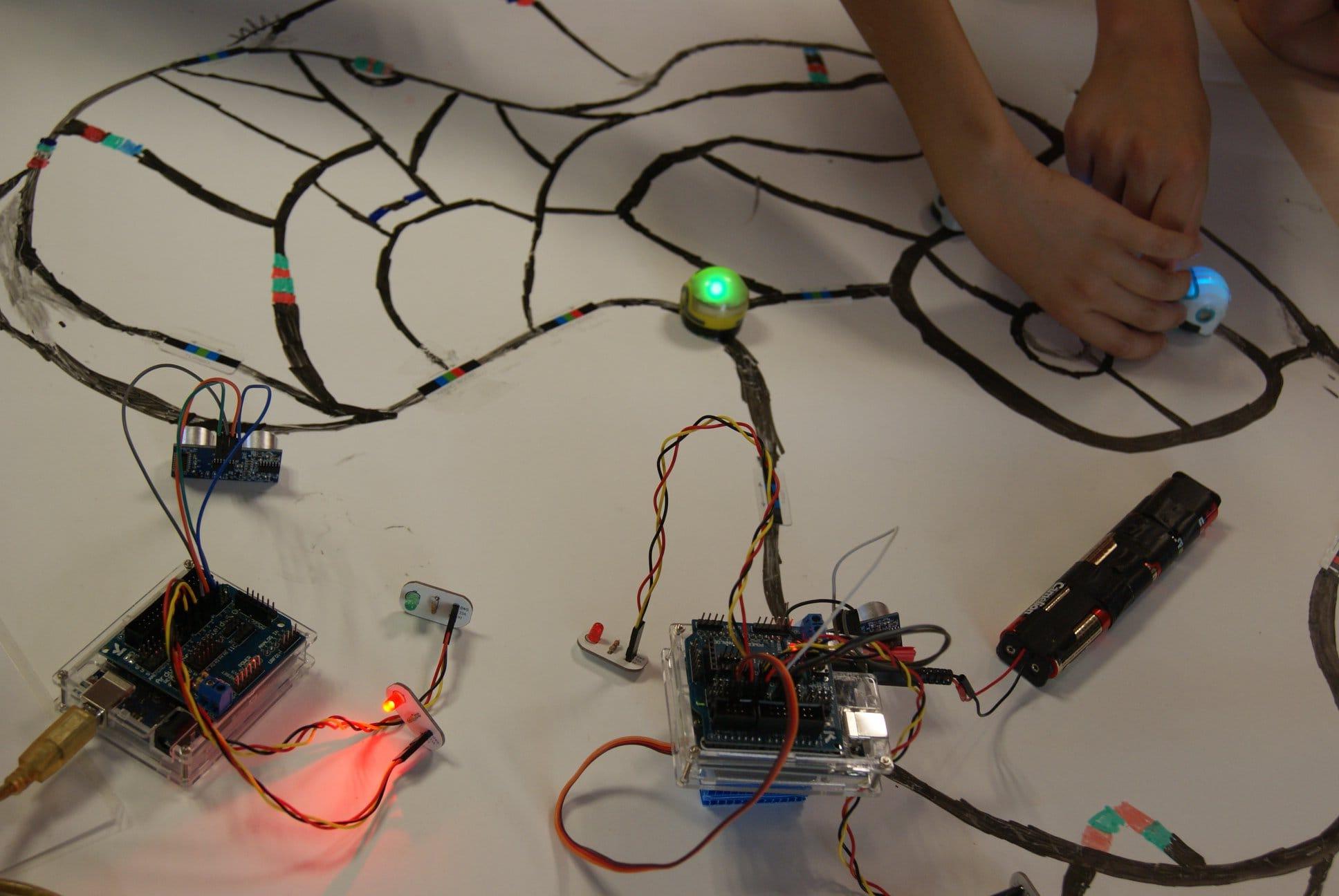 Atelier de programmation des robots