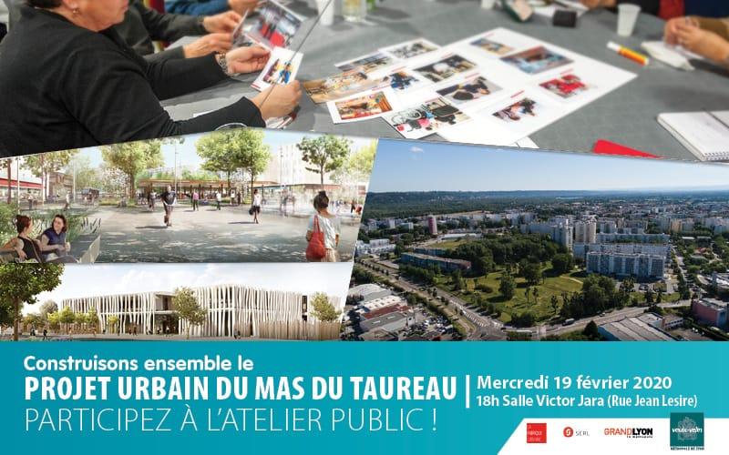 Atelier public Projet urbain Mas du Taureau