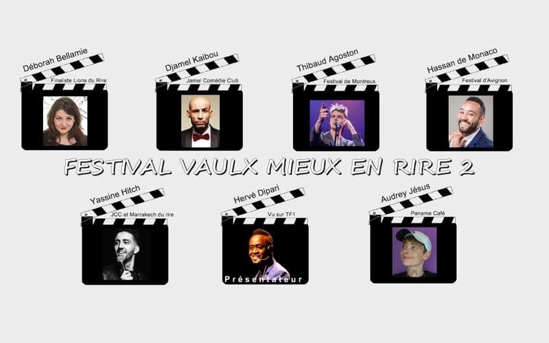 Festival Vaulx mieux en rire - Visuel de la 2e édition