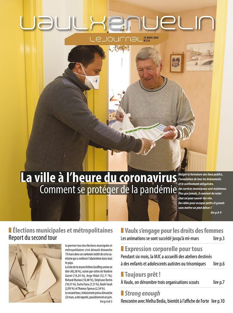 Vaulx-en-Velin le Journal numéro 215