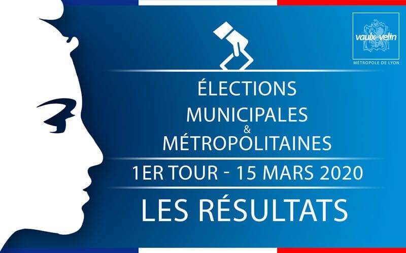 Élections municipales & métropolitaines – les résultats du 1er tour à Vaulx-en-Velin