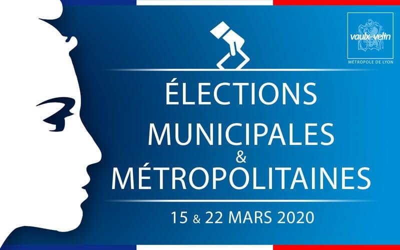 Élections municipales et métropolitaines - 15 et 22 mars 2020