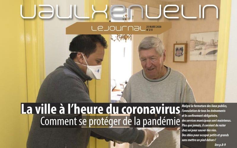 Vaulx-en-Velin Journal  – numéro 215 – 25 mars 2020