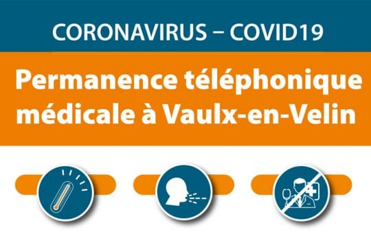 permanence téléphonique médicale à Vaulx-en-Velin