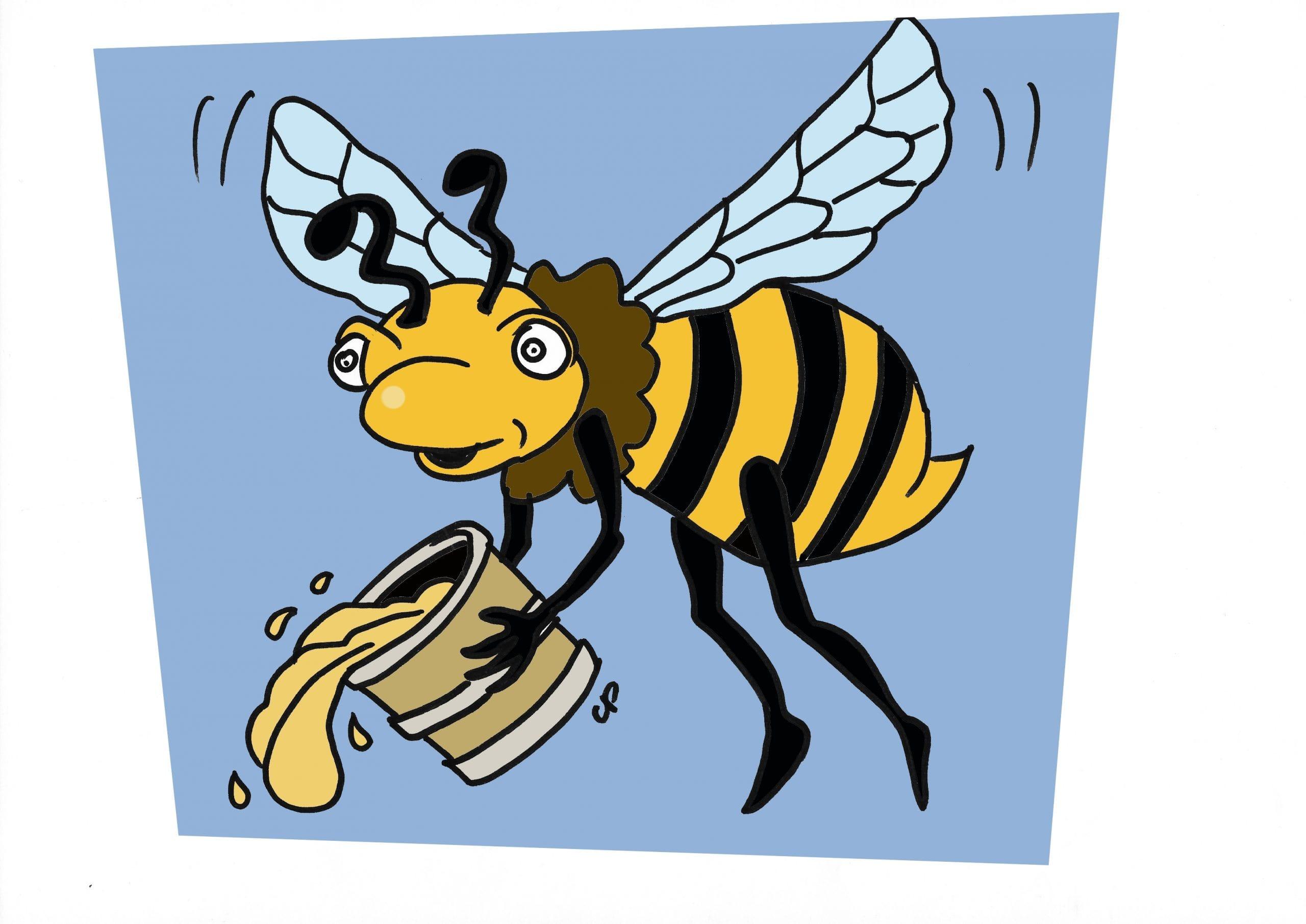 coloriage abeille